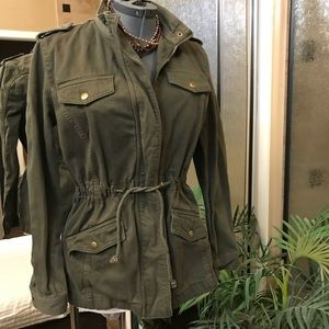 Lucky brand utility jacket size small
